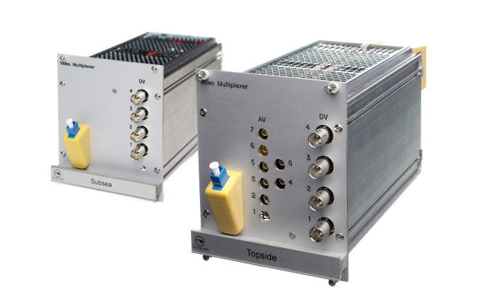 KD Con video multiplexer topside and subsea