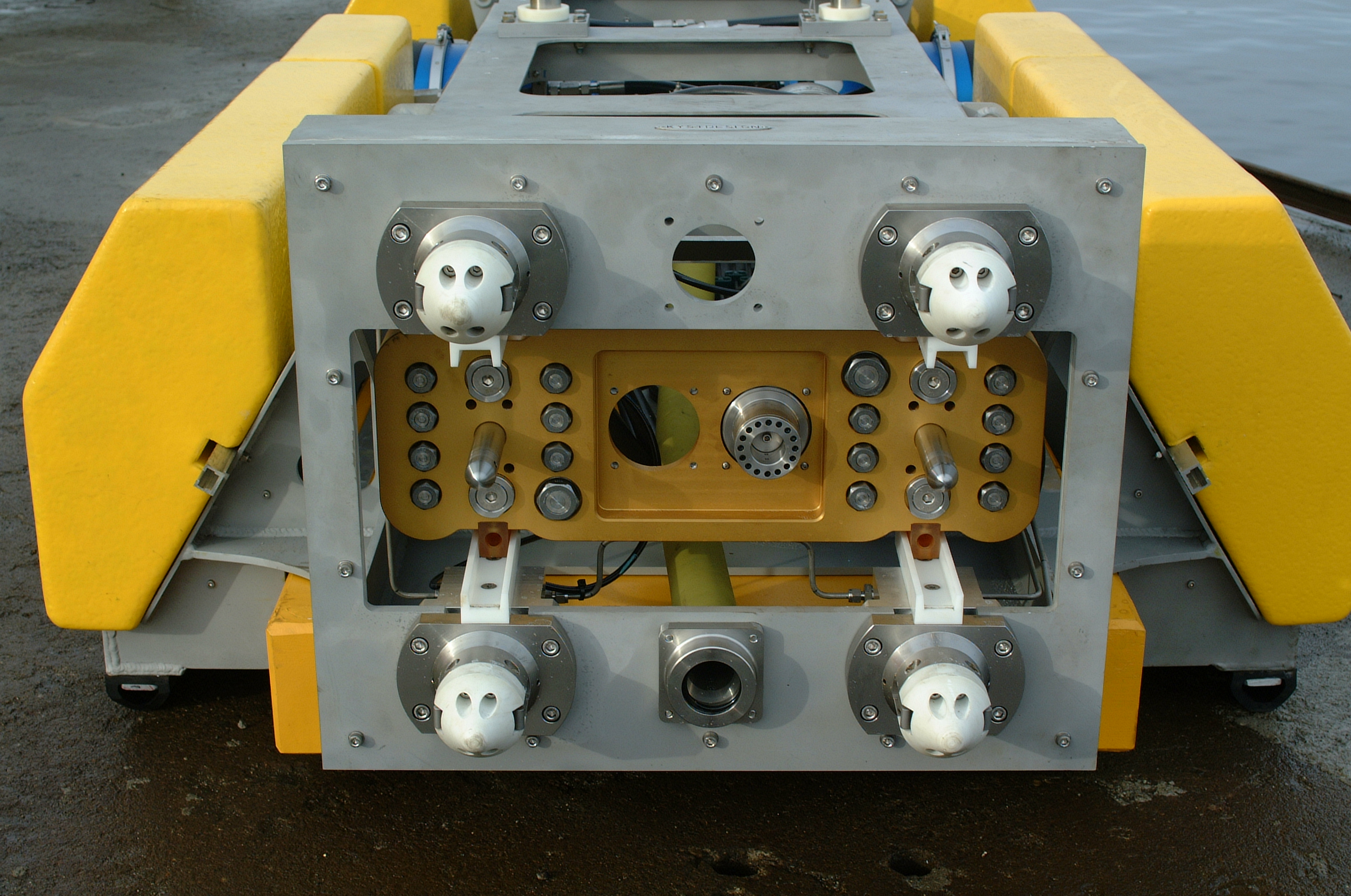 Hydraulic Docking Probe And Stab Plates Kystdesign