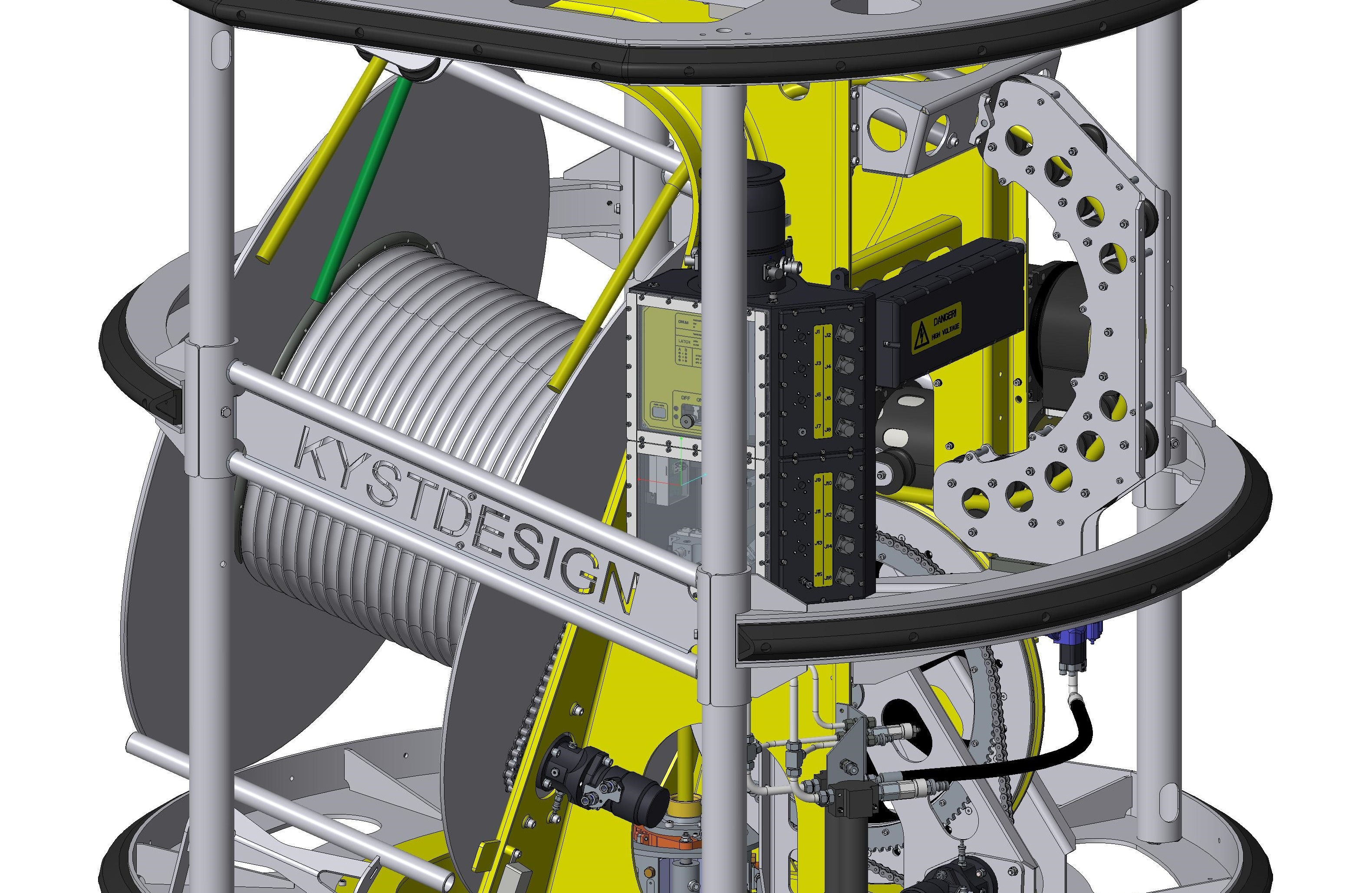 Kystdesign launch new TMS with up to 1000m tether capability and 6000m depth rating ...